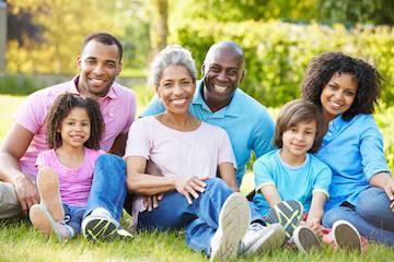 Multigenerational family | Family Dentist 28210