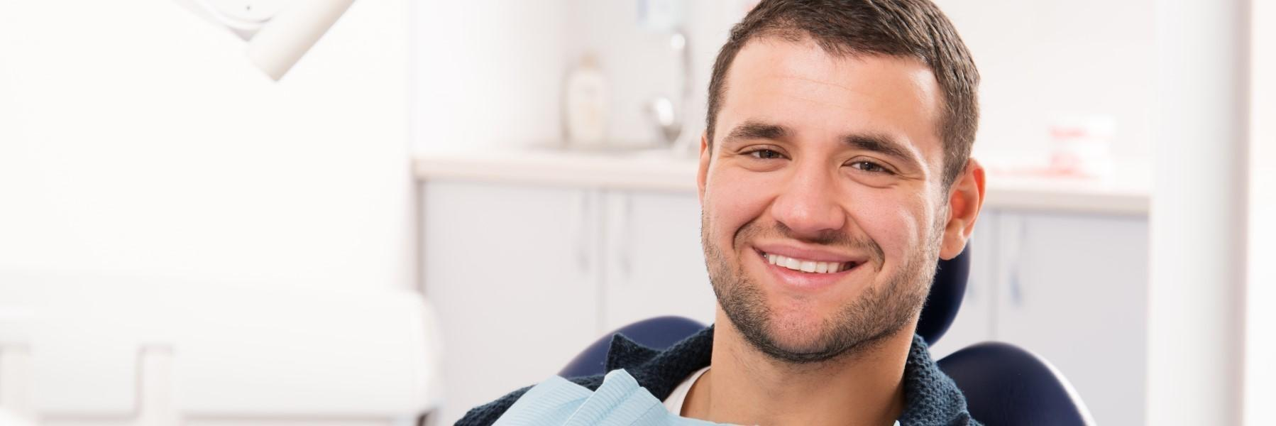 Dental Exam Patient | Gentry Dental